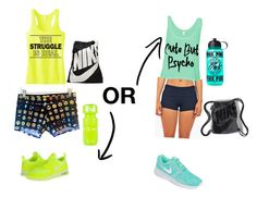 """⚾️"" by xxxdamainbaexxx ❤ liked on Polyvore featuring NIKE, Victoria's Secret PINK and Röhnisch"