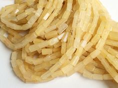 5 Strands WHOLESALE Yellow Ametrine  Light Yellow by gemsforjewels