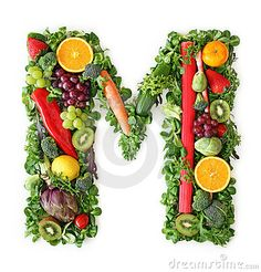 Picture of Fruit and vegetable alphabet - letter N stock photo, images and stock photography. Fruits And Vegetables, Veggies, Veggie Art, Alphabet Photos, Alphabet Letters, Vegetables Photography, Fruit Picture, Vegetable Stock, Food Art