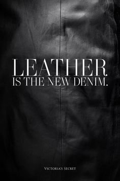 Leather | The House of Beccaria~