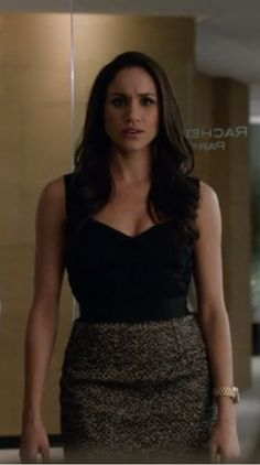 Love her outfit! Rachel Zane (season 2, episode 15)