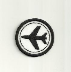 """2"""" Airplane Merit Badge! Any Color Combo! Custom Made! by PatchNation on Etsy https://www.etsy.com/listing/265299848/2-airplane-merit-badge-any-color-combo"""