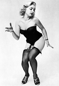 "Rita Grable    aka. ""Burlesk's Bounciest Blonde"".."