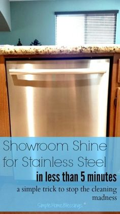 Tired of spotty, streaky kitchen appliances? This is a simple trick restoring showroom shine to stainless steel.