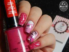 #nails #nail #fashion #style #disney #cute #beauty #beautiful #revlon #pretty #girl #girls #stylish #sparkles #styles #gliter #nailart #art #opi #pink #essie #unhas #preto #branco #rosa #love #shiny #polish #nailpolish #bela