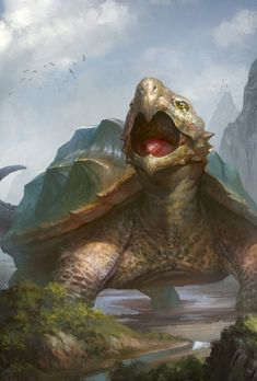 70 Best Turtle Images Fantasy Creatures Mythological Creatures