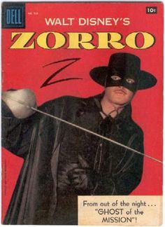 Zorro Comic Book