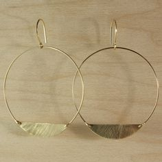 Earrings, handmade
