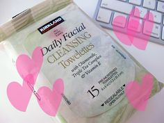 Kirkland daily facial cleansing towelettes review. I have been using these for years. They work better than drugstore brands, and they're super cheap (about 1/3 the price of other makeup wipes). They never dry out and they don't leave a residue, just a fresh clean feeling.