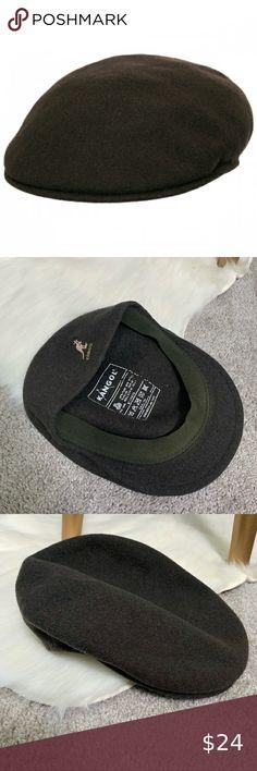 Mens Classic  Kangol  Wool  507  Ivy  Cap  Color  Hunter Mix