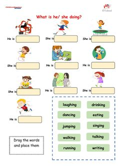 English Activities For Kids, English Grammar For Kids, First Day Of School Activities, Teaching English Grammar, English Worksheets For Kids, English Lessons For Kids, Kids Math Worksheets, English Fun, English Language Learning