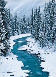 North Saskatchewan River  Banff National Park.