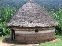 Hut near Hosanna, Ethiopia where my daughter was born