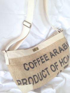 Handtasche Kaffeesack - KUNSTetKREMPEL