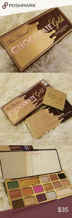 Too Faced Chocolate Gold New in box. Christmas special! Too Faced Makeup Eyeshadow