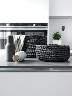 DIY | praktische Häkelkörbe für die Küche