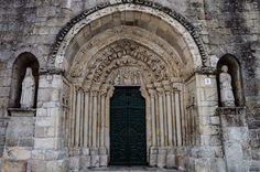 Portada Iglesia de Santa María del Azogue (Betanzos - Spain)