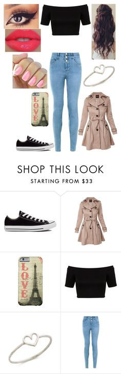 """""""Daughter of Aphrodite on a Quest"""" by loney5400 ❤ liked on Polyvore featuring Converse, Miss Selfridge, Aurélie Bidermann and New Look"""