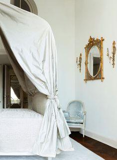 Jacques Grange ~ Place des Vosges bedroom
