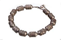 ethnic jewelry Vertebrae Bangle Bracelet by BestOffersBoutique Bracelets Design, Bracelets For Men, Handmade Bracelets, Bangle Bracelets, Handmade Jewelry, Bangles, Unique Jewelry, Gemstone Jewelry, Jewelry Rings