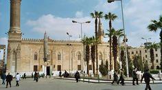 Al Hussein mosque Cairo Egypt