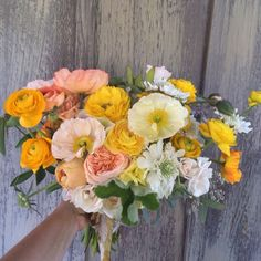 Can't go wrong with poppies, ranunculus, and garden roses!