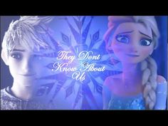 Jelsa~ They Don't Know About Us All Disney Movies, Disney Characters, Im In Love, This Is Us, Jack Frost And Elsa, Harry Potter, Cutest Couple Ever, Rise Of The Guardians, How To Make Comics