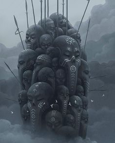 "18.6k Likes, 33 Comments - E M P I R E _O F_ F U T U R E (@empire_of_future) on Instagram: ""By Alexey Egorov @mr_werewolf . . #empireoffuture #robot #scifi #fantasy #art #digitalart…"""