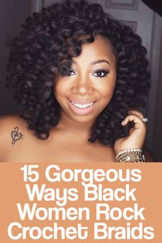 Crochet braids.... Best protective style yet!!!!!                                                                                                                                                                                 More