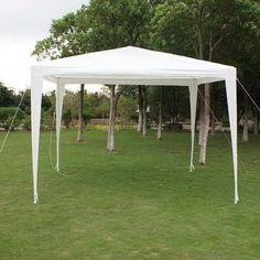 New 10 x 10 ft Outdoor Canopy Garden Party Gazebo BBQ Tent No Wall POT11