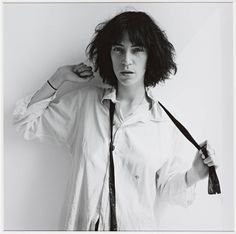 Robert Mapplethorpe - Patty Smith, 1975