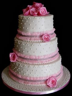 The wedding cake was made for a bride from Maun, who wanted 9 fruit cakes as per her design suggested, with roses and silver lace and royal icing decorations. Description from sugarcraft-india.blogspot.co.uk. I searched for this on bing.com/images