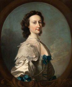 The Athenaeum - Barbara Bagot (Thomas Hudson - ) English 1749
