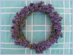 Ty jsi má, levandulová | Rodina21 #summer #wreaths #lavender