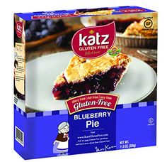 Katz Gluten Free Blueberry Pie, 11.5 Ounce, Certified Gluten Free - Kosher - Dairy, Nut & Soy free - (Pack of 6) *** You can find out more details at the link of the image.
