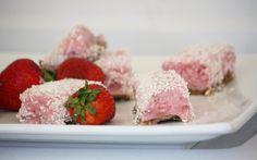 SCD Strawberry & Coconut Ice Cream Bars