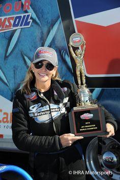 Elaine Larsen - Jet Dragster World Champion 2015