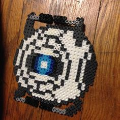 Wheatley Portal perler beads by daspookypotato