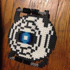 Wheatley Portal perler beads by  daspookypotato