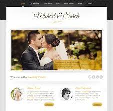 15 Of The Best Free Premium Wedding Website Templates