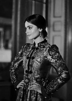 "bwbeautyqueens: """"JENNA COLEMAN photographed for British Vogue, May 2017 "" """