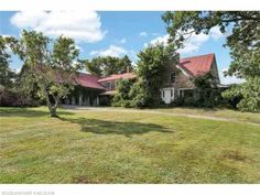 Loving needed! step back in time with this lovely country farmhouse w/lots of charm once was a bustling apple orchard, trees still remain ma. Old Houses For Sale, Kayak Paddle, First Kitchen, Apple Orchard, Old House Dreams, Back In Time, Lake View, Country Farmhouse, Paddle Boarding