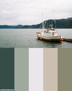 Colour Pallete, Color Schemes, Color Palettes, Viking Museum, Best Crabs, Yearbook Layouts, Fishing Guide, Fishing Boats, Norway