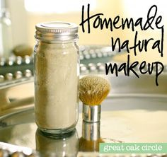 Natural Translucent Powder (Great Oak Circle) Who would have thought you could make your own face powder? This one is super simple to put together, and I love knowing exactly what ingredients are going on my face!