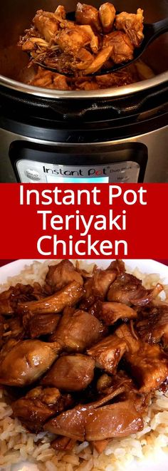This Instant Pot chicken teriyaki is amazing! Tastes just like the one from a Ja. This Instant Pot chicken teriyaki is amazing! Tastes just like the one from a Japanese restaurant! So soft and flavorful! Quicker and cheaper than takeout! Best Instant Pot Recipe, Instant Recipes, Instant Pot Dinner Recipes, Recipes Dinner, Lunch Recipes, Summer Recipes, Breakfast Recipes, Dessert Recipes, Instant Pot Pressure Cooker