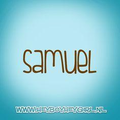 Samuel (Voor meer inspiratie, en unieke geboortekaartjes kijk op www.heyboyheygirl.nl)