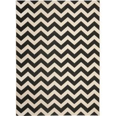 @Overstock.com - Safavieh Courtyard Black/ Beige Indoor Outdoor Rug - This chevron indoor/outdoor rug from Safavieh makes a charming addition to your favorite entertaining space. This polypropylene rug has an easy-to-maintain low pile that holds up well to heavy foot traffic, and it resists mildew, mold, and moisture. http://www.overstock.com/Home-Garden/Safavieh-Courtyard-Black-Beige-Indoor-Outdoor-Rug/7357016/product.html?CID=214117 $29.69