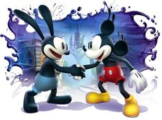 Epic Mickey is on helluva game...I love Oswald - Spector did an amazing job creating a world for us Disneophytes.