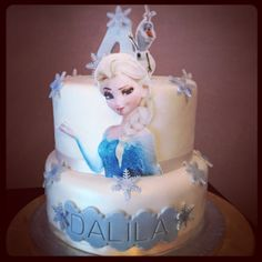 Frozen cake - madeira cake and rocher cream