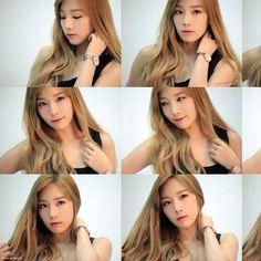 via   taeyeonxxii instagram Casio Sheen Ads Photoshoot #taeyeon #snsd